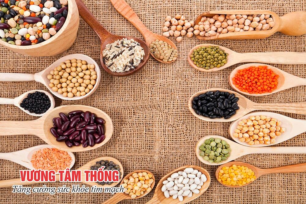 Người bệnh thiếu máu cơ tim nên ăn nhiều ngũ cốc nguyên cám